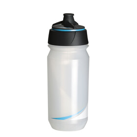 Tacx Shanti Twist Trinkflasche 500ml transparent/blau